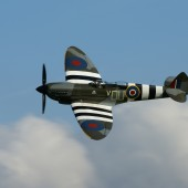 Spitfire at Shuttleworth