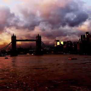 Tower bridge landscape (Moody)
