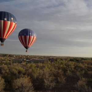Albuquerque balloon trip