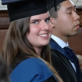 Alice graduates from uni