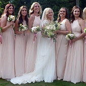 Tasha, 6 Bridesmaids, and the Maid of Honour