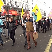 Kurdish March Central London 9th October 2016
